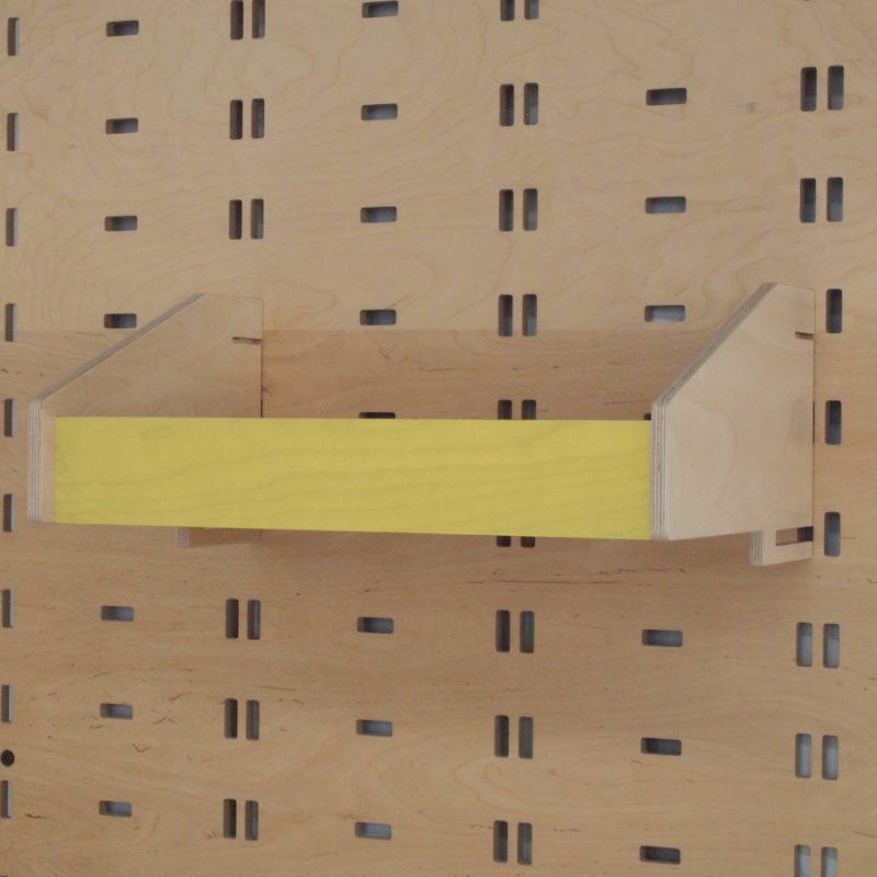 Klik Closed Storage Box Yellow