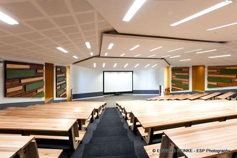 UNI Fort Hare Auditorium Internal Raw Studios
