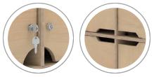 Lockable &/ Handle Option