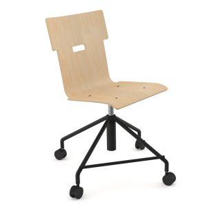 Handi Chair Steel 101 Natural Birch
