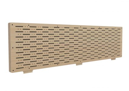 Workstation Add-on Acoustic Screen 100