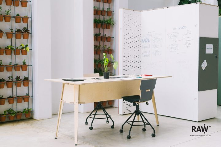 WallSpace modular walling system Office Workplace tall desk chair furniture