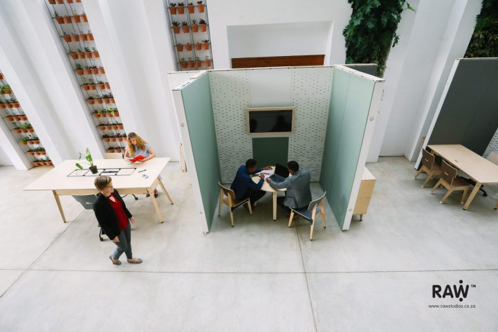 WallSpace modular walling system Office meeting acoustic furniture