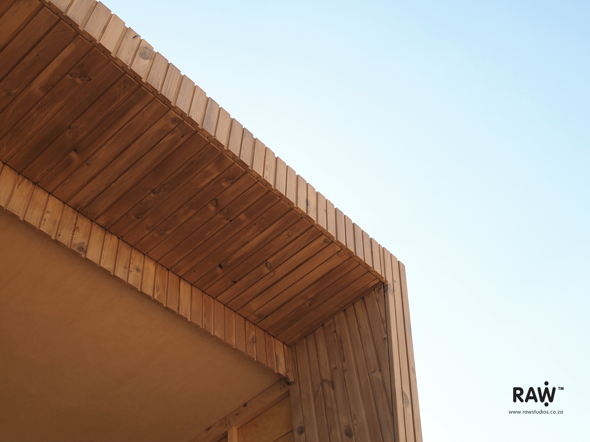 Nestling: Micro-living container, small living places with engineered wood materials