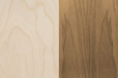 RAW Natural veneer finishes options
