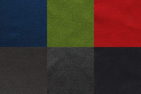 RAW Textiles Selected Vulcan Colours