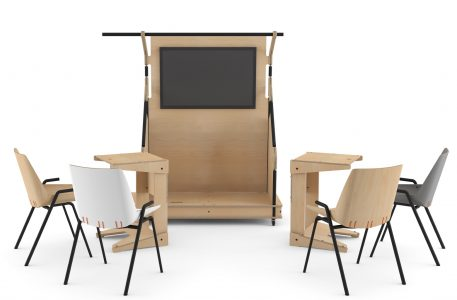 Hub 101 with steel Stak Chairs