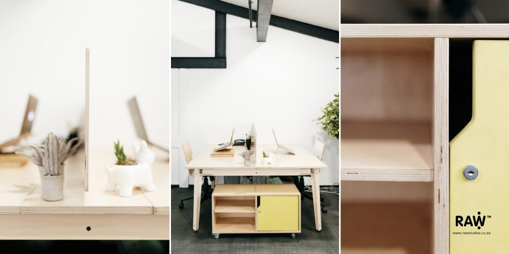 RAW Studios office furniture workstations chairs storage