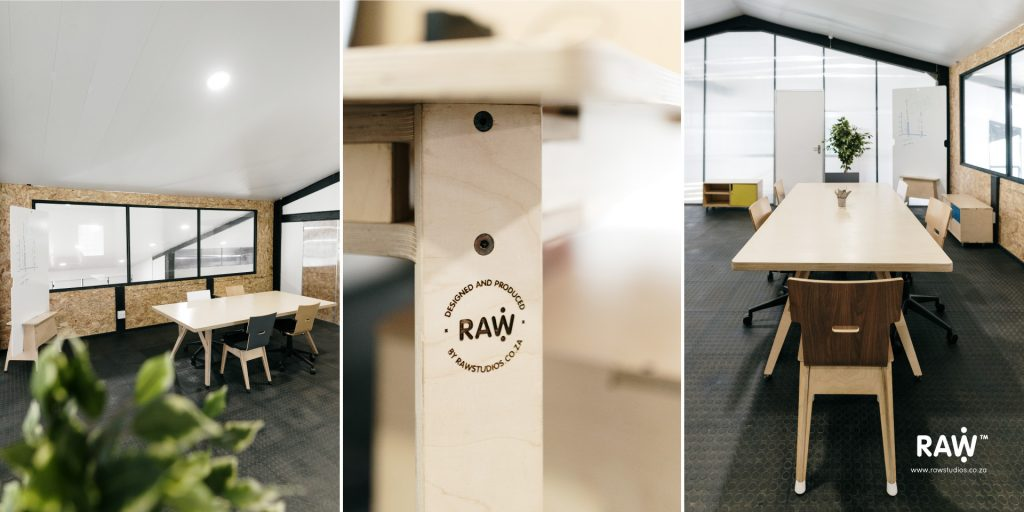 RAW Studios office furniture workstations meetings desk chairs